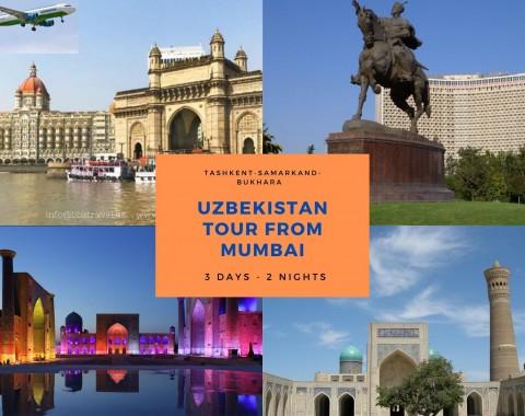 Uzbekistan tour from Mumbai