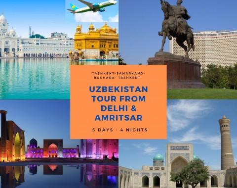 Uzbekistan tour from Delhi & Amritsar
