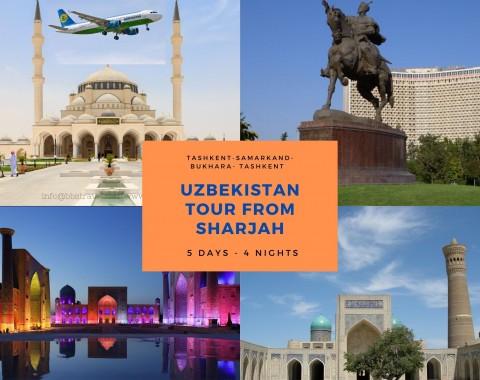 Uzbekistan tour from Sharjah